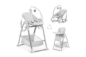Chaise haute Hauck Chaise haute sit n relax 3in1 - nordic grey