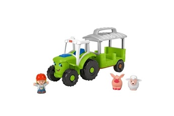Figurines personnages Fisher Price Fisher-price little people le tracteur - de 12 mois a 5 ans
