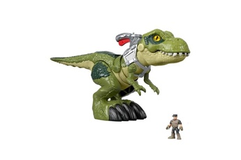 Figurines personnages Fisher Price Fisher-price imaginext jurassic world redoutable t-rex mega machoire - 3 ans et +