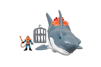 Figurines personnages Fisher Price Fisher-price imaginext requin mega machoire - 3 ans et +