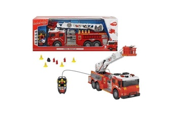 Véhicules miniatures Dickie Toys Dickie - camion pompiers filoguide 62cm rouge