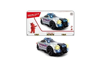 Véhicules miniatures Dickie Toys Dickie - voiture de police 33cm gris