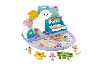 Figurines personnages Fisher Price Fisher-price little people babies la creche - de 12 mois a 5 ans