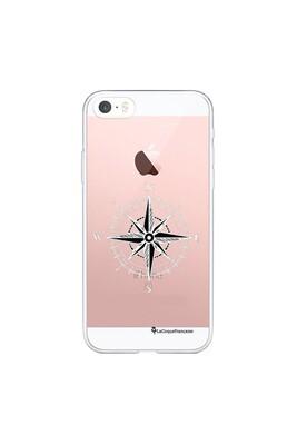 Coque iphone 5/5s/se 360 intégrale transparente boussole tendance la coque francaise