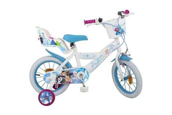 Vélos enfant AUCUNE La reine des neiges?2018?v?lo 14'' - enfant fille - blanc et bleu