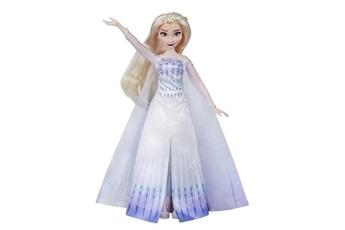 Poupées Hasbro Disney la reine des neiges 2 - poup?e princesse disney elsa chantante (fran?ais) en tenue de reine - 27 cm