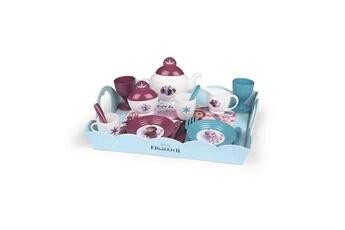 Jeux d'imitation SMOBY Smoby la reine des neiges 2 plateau tea time xl 17 accessoires