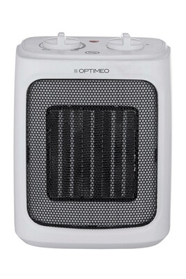 Chauffage soufflant Optimeo Radiateur soufflant blanc compact 2000w optimeo oce-a04-2000