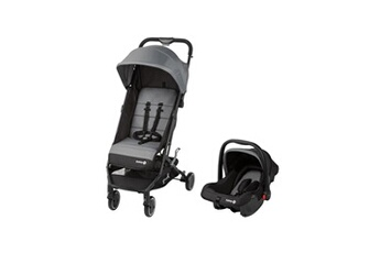 Châssis Poussette Safety First Poussette soko 2 en 1 black grey