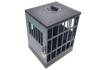 Jouets éducatifs GENERIQUE La serrure de prison de téléphone portable avec le cadenas et la clé peut placer 6 morceaux de téléphone portable ft2617