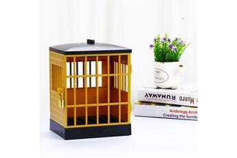 Jouets éducatifs GENERIQUE La serrure de prison de téléphone portable avec le cadenas et la clé peut placer 6 morceaux de téléphone portable