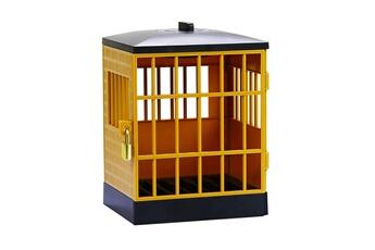 Jouets éducatifs GENERIQUE La serrure de prison de téléphone portable avec le cadenas et la clé peut placer 6 morceaux de téléphone portable ft662