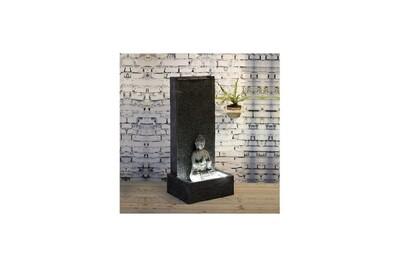 Fontaine Ac-déco Grande fontaine xl mur bouddha - l 50 x l 30 x h 100 cm - fibre de verre