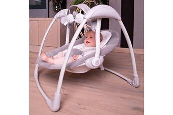 Transat bébé Bo Jungle Transat pour bébé b-portable dolphy gris