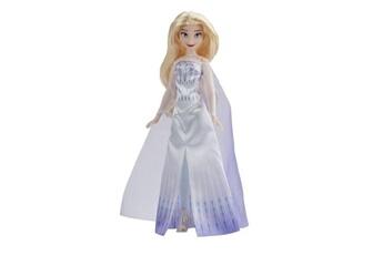 Poupées Disney / Princess Disney la reine des neiges 2 - poupee princesse disney elsa en tenue de reine - 27 cm