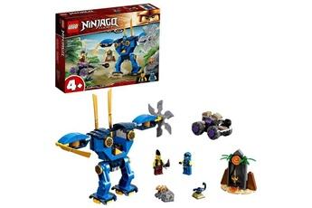 Autres jeux de construction Lego Lego 71740 ninjago legacy l'?lectrorobot de jay jouet figurine pour les enfants de 4 ans et +, avec la voiture spider & ninja