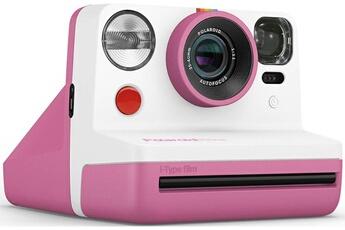 Polaroid Now Appareil Photo instantané i-Type Rose et Blanc
