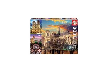 Puzzles Educa Educa - puzzle - 1000 collage de notre-dame