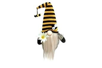 Poupées GENERIQUE Bumble bee striped gnome scandinave tomte nisse suédois honey bee elfs home@c52707