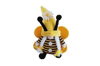Poupées GENERIQUE Bumble bee striped gnome scandinave tomte nisse suédois honey bee elfs home@c51846
