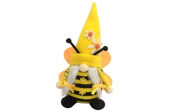 Poupées GENERIQUE Bumble bee striped gnome scandinave tomte nisse suédois honey bee elfs home@c52705
