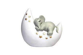 Veilleuse House Of Disaster Veilleuse mini led lampe éléphant pour chambre d'enfants, lampe de chevet, lampe de bureau, 12,5 x 13 x 6