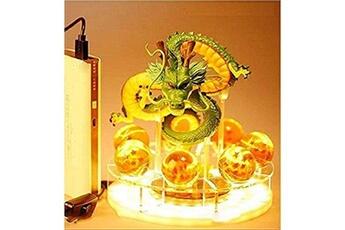Veilleuse Iutoyye Creative veilleuse table lampe led jouets figurine dragon bénédiction réalisez le rêve ensemble combiné mascotte éclairage décoratif pour enfants bébé