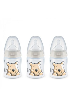Biberon Nuk Lot 3 biberons first choice+ winnie 150 ml 0-6m perçage m