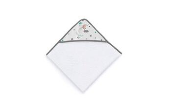 Sortie de Bain bébé Tanuki Sortie de bain theme fishing stars - des la naissance - blanc