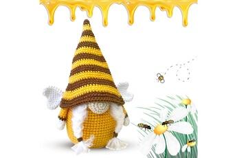 Poupées GENERIQUE Bumble bee striped gnome scandinave tomte nisse suédois honey bee elfs home@c63141