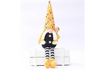 Poupées GENERIQUE Bumble bee striped gnome scandinave tomte nisse suédois honey bee elfs home@c62757