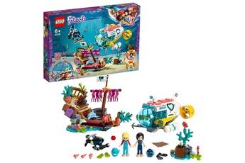 Jeux en famille Lego Lego-la mission de sauvetage friends un sous-marin 2 mini poup?es et 2 figurines de dauphins jouet pour fille et gar?on ? partir de 6 ans et plus jeux