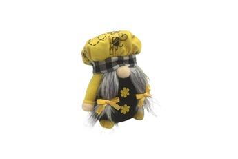 Poupées GENERIQUE Bumble bee striped gnome scandinave tomte nisse suédois honey bee elfs home@c52118