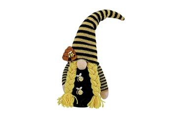 Poupées GENERIQUE Bumble bee striped gnome scandinave tomte nisse suédois honey bee elfs home@c50945