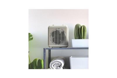 Chauffage soufflant Livoo Chauffage soufflant électrique et ventilateur blanc