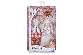Poupées Disney Frozen Disney la reine des neiges 2 - le pique-nique automnal d'anna et olaf