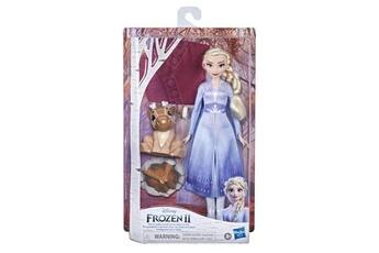 Poupées Disney Frozen Disney la reine des neiges 2 - le feu de camp d'elsa et ses amis