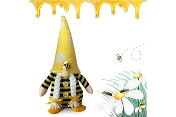 Poupées GENERIQUE Bumble bee gnome scandinave tomte nisse suédois honey bee elfs home@c63757