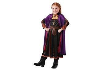 Déguisements Rubies Costume Co Rubies- d?guisement anna la reine des neiges 2 disney, i-300289xl, multicolore, 9-10 ans