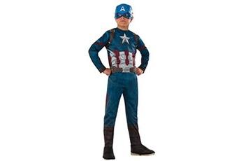 Déguisements Rubies Costume Co Rubies - captain america civil war - d?guisement capitan america classic cw, costume pour enfants, l (8 - 10 ans)
