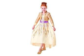 Déguisements RUBIES Rubie's costume officiel disney la reine des neiges 2 anna deluxe prologue costume pour enfant taille l 7-8 ans