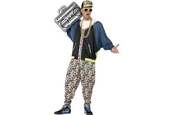 Déguisements Smiffy's Smiffys costume hip hop années 80, à motifs, avec veste, pantalon et chapeau