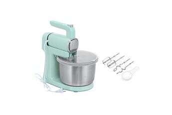 Mixeur cuiseur Insma Batteur électrique de cuisine insma avec 2 fouets et 2 crochets à pâte 4 vitesses et fonction turbo 300w