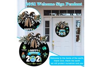 Poupées GENERIQUE Mother earth in 2021-welcome sign front door hanger sign farmhouse-front porche@c54202