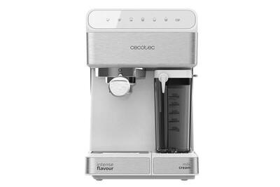 Expresso Cecotec Power instant-ccino 20 touch serie bianca. 20 bars de pression, 1.4 l, 6 fonctions contrôle tactile, réservoir de lait, 1350 w