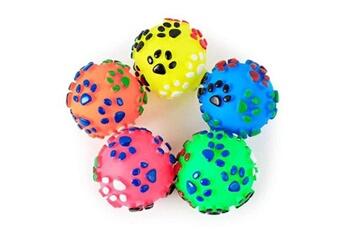 Jouets éducatifs Hsmy Pet puppy dog squeaky toy fetch ball jouets résistant à la morsure squeeze chew toy m4