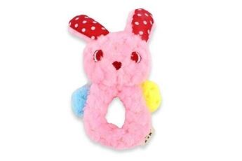 Jouets éducatifs Hsmy Mignon en peluche couine jouet pour chien pet chew teething fetch tug molar jouets lapin durable produits pour les chiens m1327