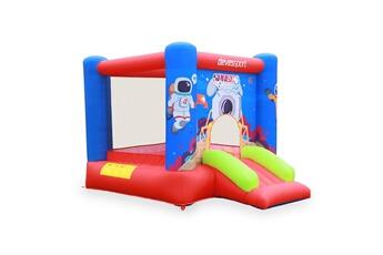 Accessoires Baby foot Pro Soccer Ch?teau gonflable avec toboggan,aire de jeu pour 3 enfants de 3 ? 10 ans - 210 x 280 x 185 cm