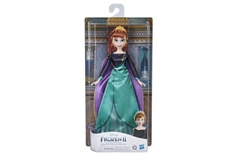 Poupées Disney Frozen Disney la reine des neiges 2 - poupee princesse disney anna en tenue de reine - 27 cm