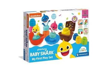 Jeux d'imitation CLEMENTONI Clementoni - 17426 - clemmy - coffret d'activités baby shark